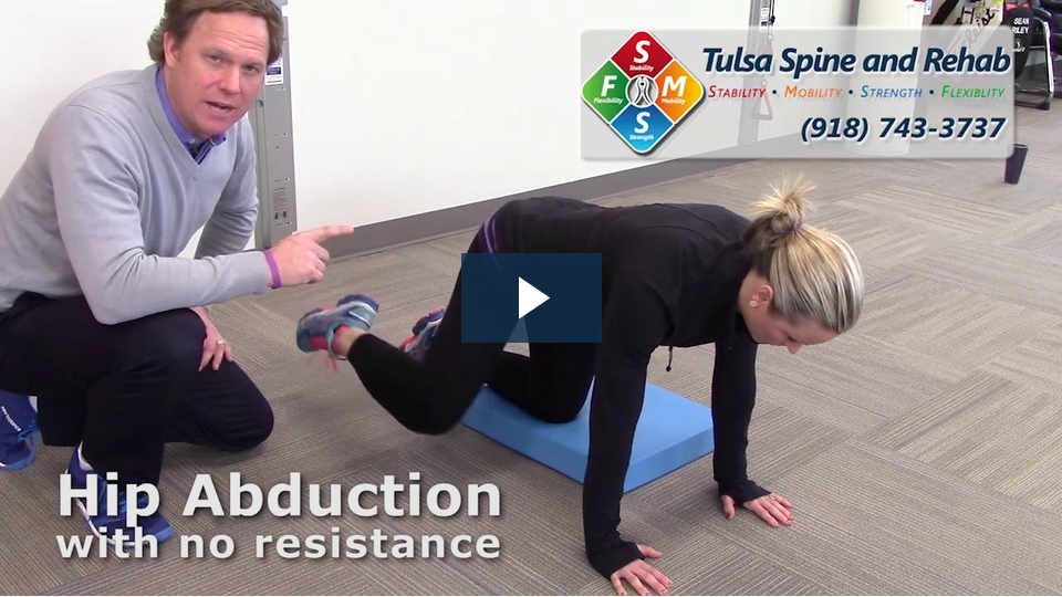 fit tip hip abduction with no resistance tulsa spine and rehab